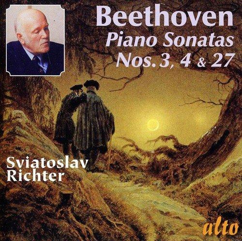Beethoven: Piano Sonatas Nos. 3, 4, & 27