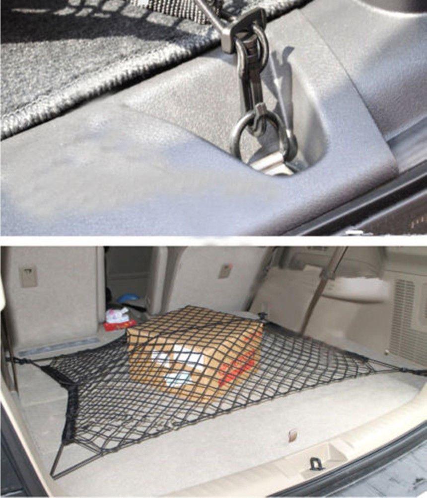 Moonet Car/Trunk/Luggage/Cargo/Elastic/Net/For/MDX/CRV/Escape/Sportage/ATS/100100 5559013195