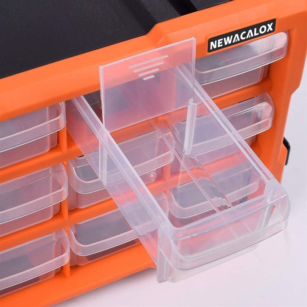 Tool Storage Box Tool Organizers Drawer Tool Box Wall Mount Hardware Plastic Tool Case Storage Box Multi-Function Repair Toolbox Tool Box (Color : N 15079) N 18029
