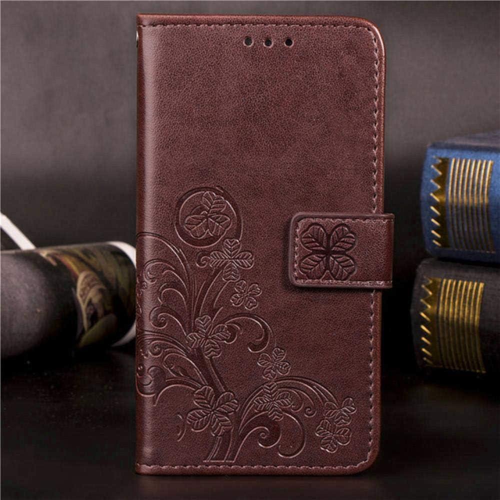 3D Wallet Flip Case for LG K4 K5 K7 K8 K10 2017 2018 G3 G4 G5 G6 G7 ThinQ V30 V40 Q6 Plus Q7 X Power 2 Q Stylus 2 3 4 Cover,Gray,LG G5