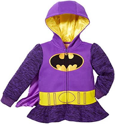 Princess Disney Little Girls Zip-up Fleece Jacket with Hood