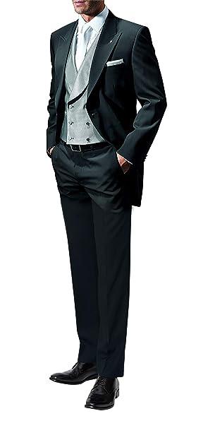 Suit Me Hombres 2 Piezas Colas Smoking de la Boda Trajes de Etiqueta Traje de los Trajes Chaquetas Pantalones