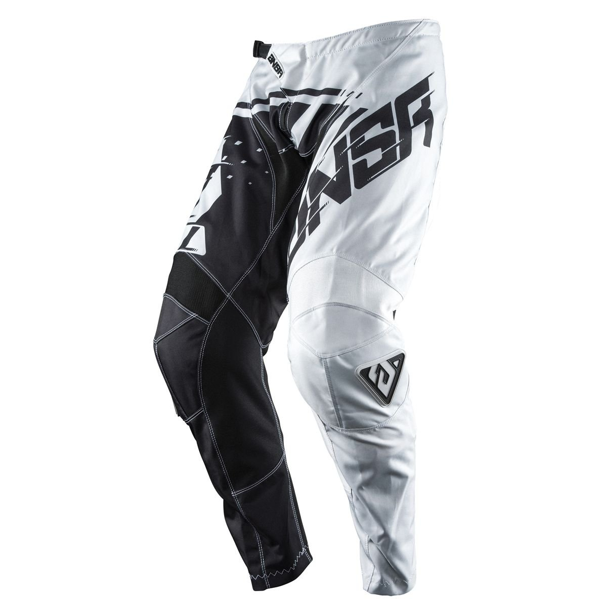 Answer Racing A18 Syncron Men's Off-Road Motorcycle Pants - Grey/Black/Size 34 by Answer