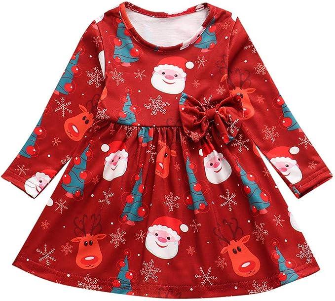 Ansenesna Weihnachten Kost/üm Baby M/ädchen Jungs Strampler Weihnachts Kleidung Overall Langarm Streifen Baumwolle Outfit