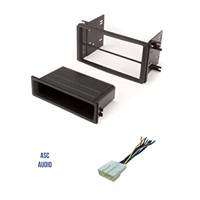 ASC Premium Car Stereo Install Dash Kit and Wire Harness for Installing an Aftermarket Radio for 2009-2013 Subaru Forester, 2008-2011 Subaru Impreza, 2008-2014 Subaru WRX - No Factory Navigation: Car Electronics [5Bkhe2013478]