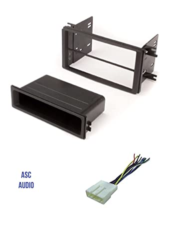 Asc Car Stereo Install Dash Kit And Wire Harness For Installing An Aftermarket Single Or Double Din Radio For 2009 2013 Subaru Forester 2008 2011