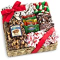 Golden State Fruit Holiday Classic Chocolate, Candy & Crunch Gift Basket