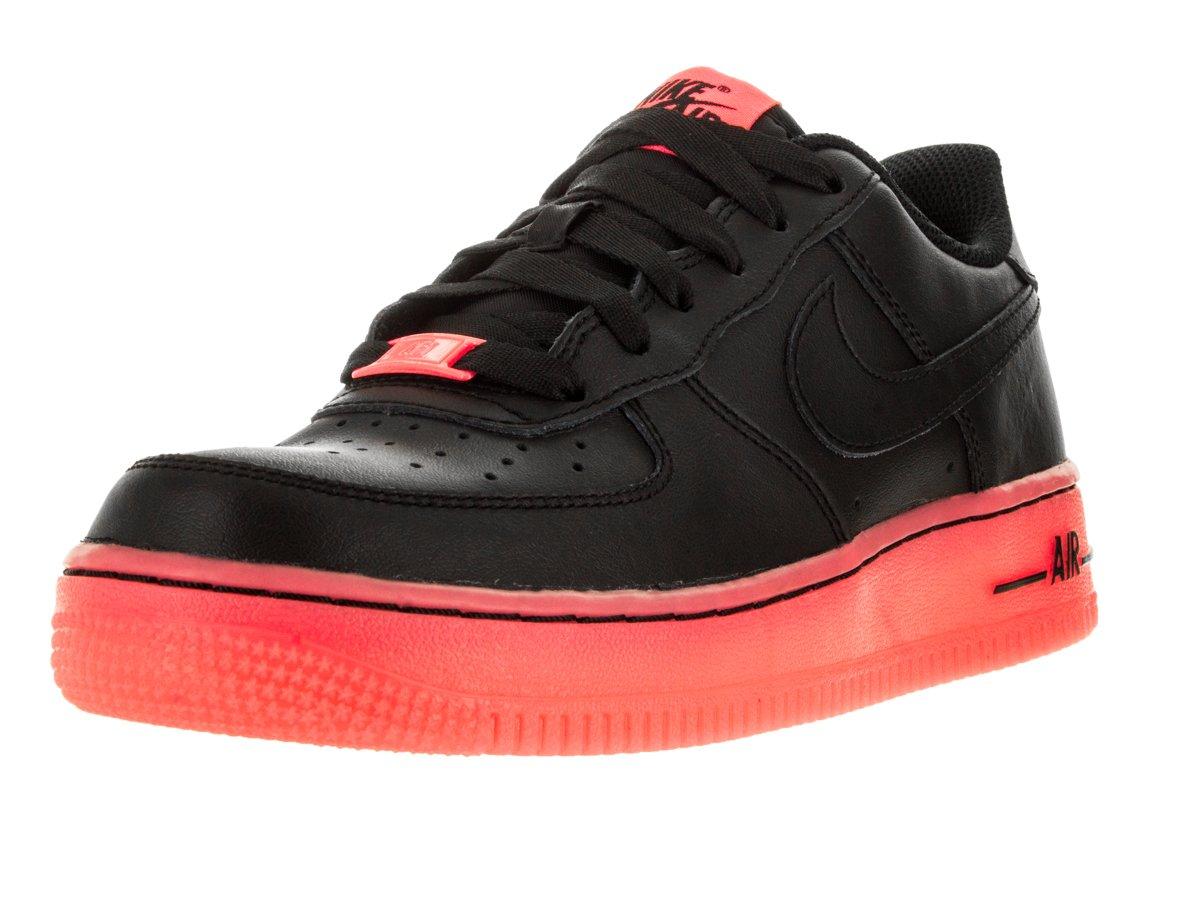 Nike Air Force 1 Lv8 (GS), Zapatillas de Baloncesto para Niños 38 EU|Black/Hot Lava