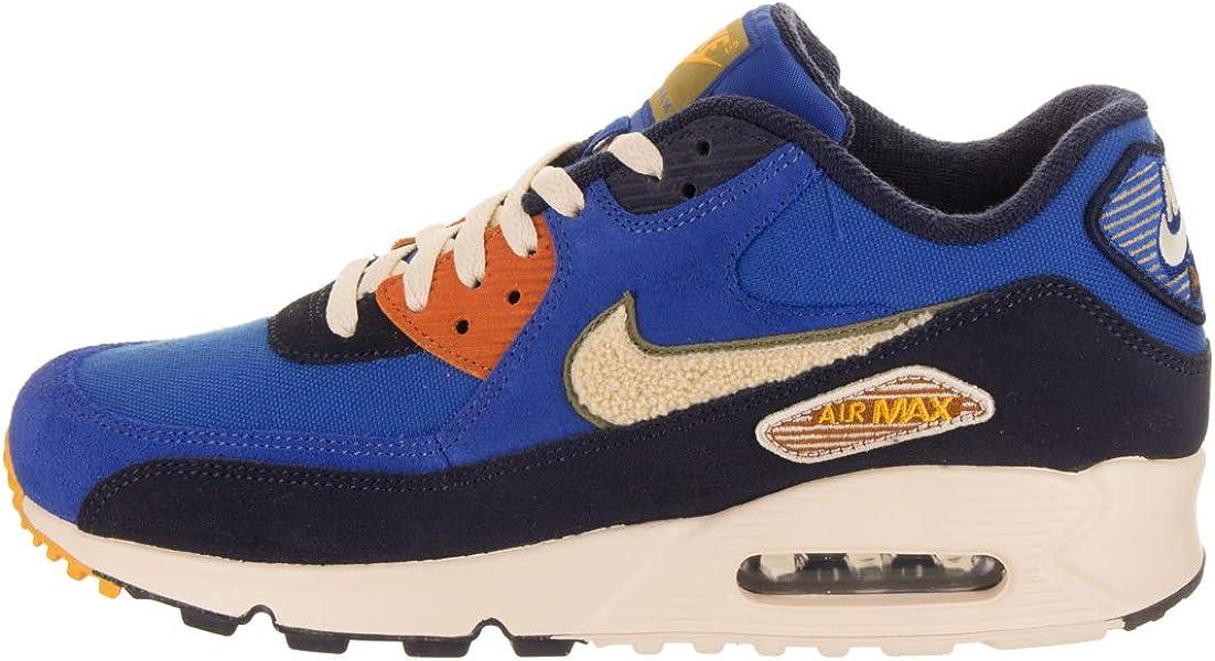 premium selection fcc07 47566 Nike Air Max 90 Premium Se, Sneakers Basses Homme, Multicolore (Game Royal .  Retour. Appuyez ...