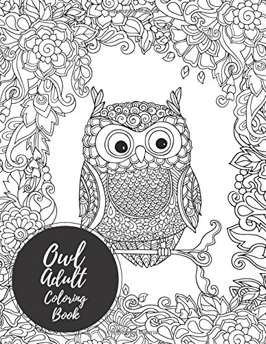 Owl Coloring Books for Adults