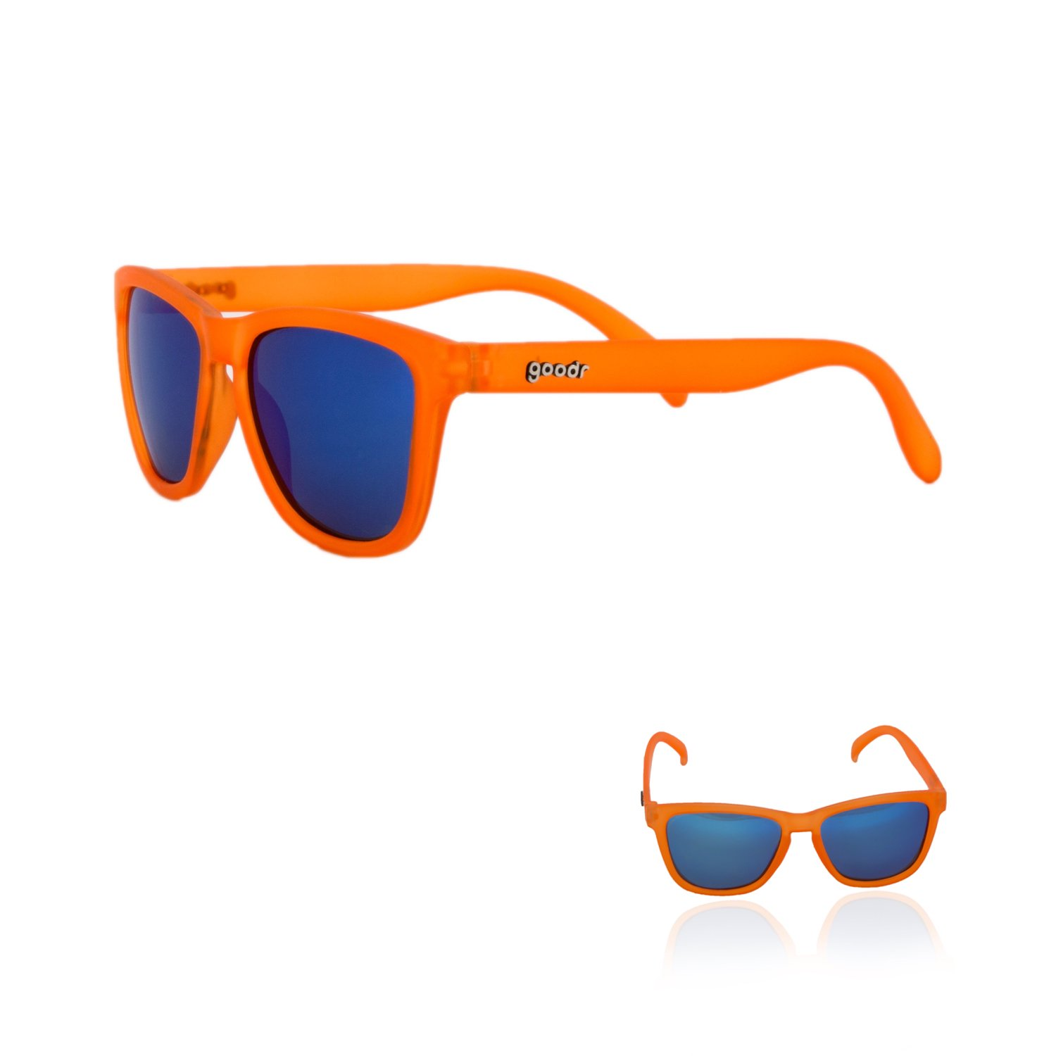 goodr Running – gafas de sol, Color No Slip, No rebote, UV polarizadas
