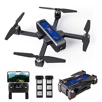Goolsky MJX B4W RC Selfie Drone GPS sin Escobillas RC con Cámara ...