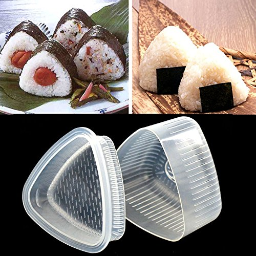 Sushi Mold Onigiri Rice Ball Bento Press Maker Mould DIY Tool