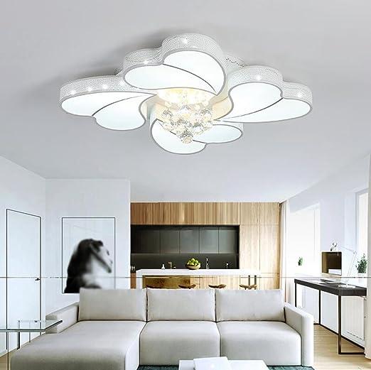 Longless Led Ceiling Lamp Living Room Lights Simple Modern