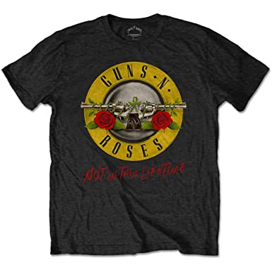 Guns Herren T amp; Roses Back Lifetime Tour With N Shirt Not In This wHnwarAxqt