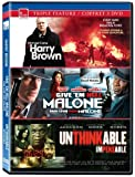 Eone Triple feature (Harry Brown / Give 'em Hell Malone / Unthinkable)