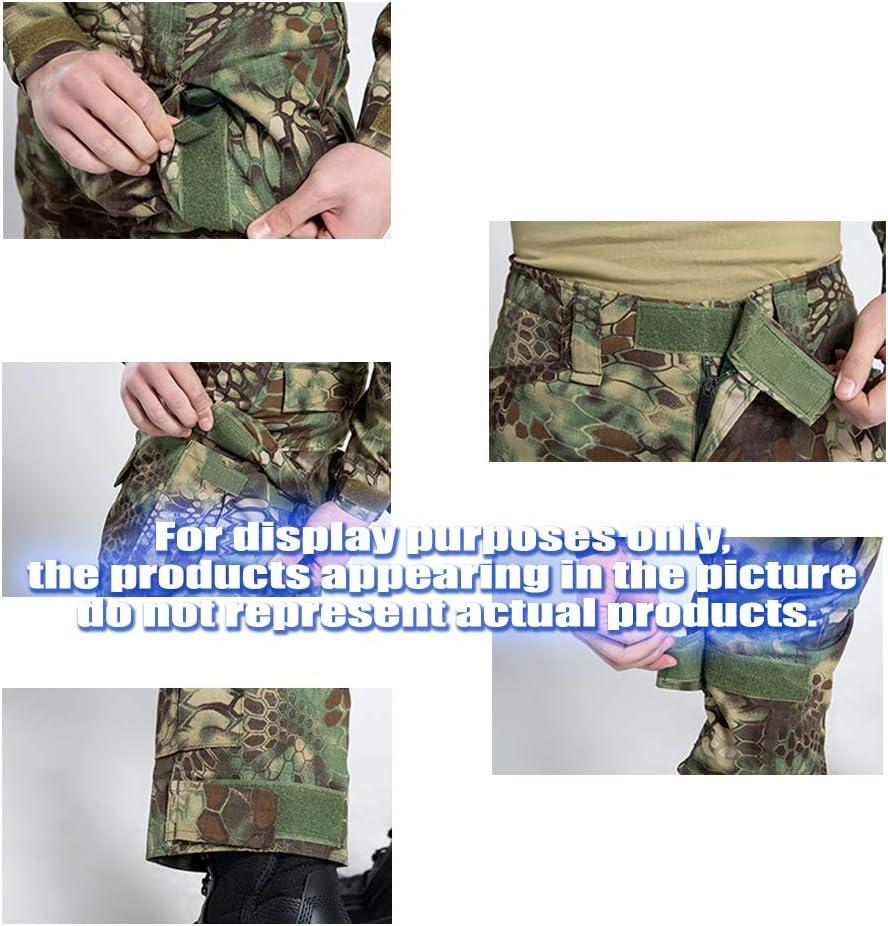 COZYJIA Pantalon Tactique Airsoft Pantalon de Combat pour Hommes Camo Combat BDU Pantalon de Combat Pantalon avec 2pcs Kneepad pour l/'arm/ée Militaire Tactique Airsoft Paintball