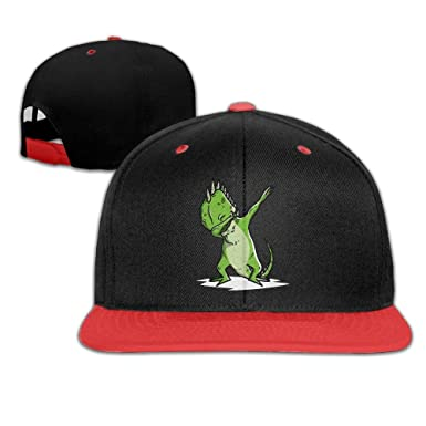 Adgjhbvn Youth Boys&Girls Iguana Dabbing Baseball Caps Snapback ...