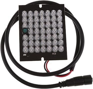 Opinión sobre 48pcs Focos Ir Llevó La Luz Del Punto Tablero Infrarrojo 850nm Para La Cámara CCTV