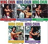 5 DVD SET Grandmaster William Cheung Wing Chun - Sil Lim, Bil Jee, Dim Mak