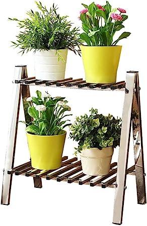 Chairs FL Estantes para Plantas/estanteria Jardin Soporte de Flores de Acero Inoxidable Estante de Flores Estante de Flores de múltiples Capas Soporte de baño Estante de Cocina estanterias de Jardin: Amazon.es: Hogar
