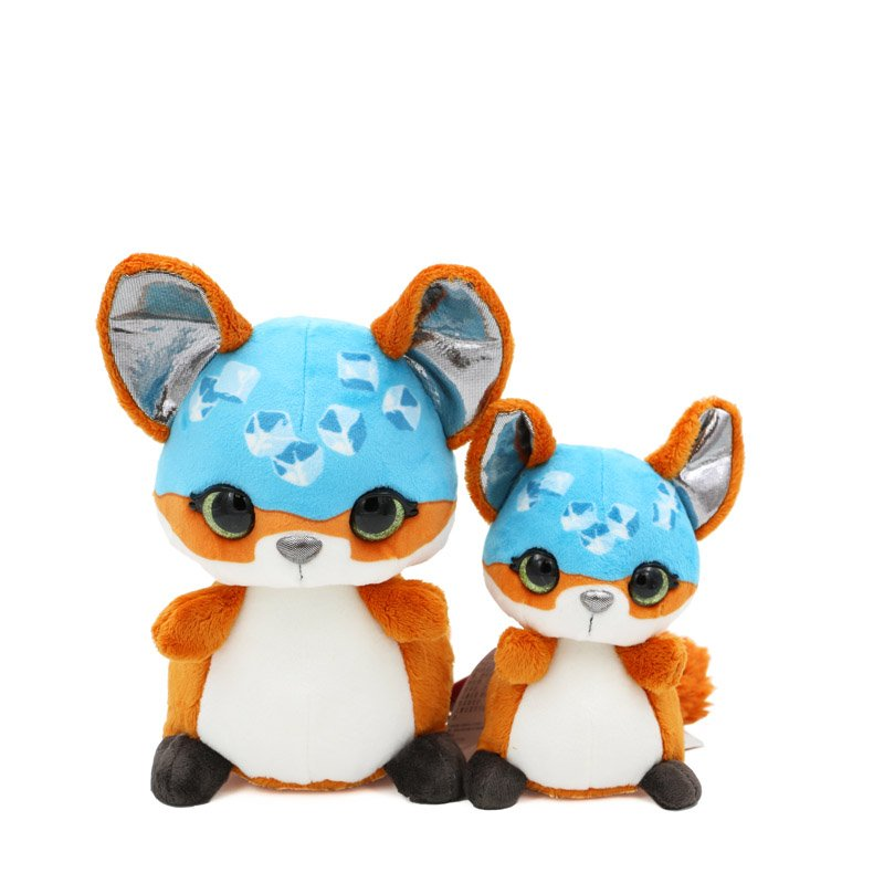 Amazon.com: NICI 39010 22 cm Nicidoos Ice Cube Fox Droppy Classic Soft Toy by: Toys & Games