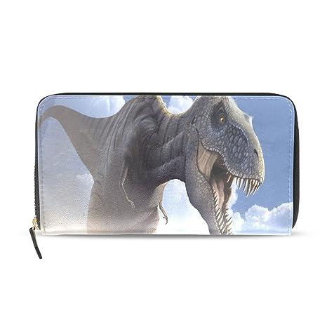 COOSUN Arte del dinosaurio del Tyrannosaurus cuero de la PU ...