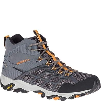 3a12e02acdc11 Merrell Men's Moab FST 2 Mid Waterproof Hiking Shoe
