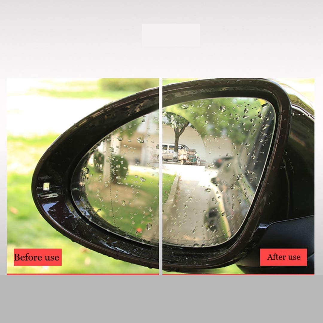 ELESKY Car Rearview Mirror Protective Film Waterproof Anti Fog Film Anti Glare Anti Mist Protector Sticker