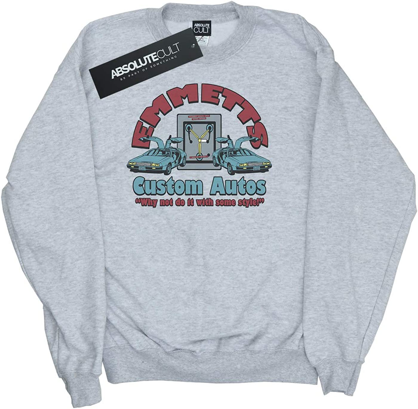 ABSOLUTECULT Alex Chenery Girls Emmetts Autos Sweatshirt