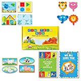 Einstein Box for 1 year olds (Learning and educational games, books and puzzles for 1 year old boys and girls - Birthday gifts and toys for baby, children)