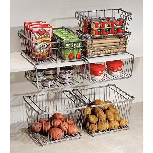 Extra Kitchen Shelves: InterDesign York Lyra Pantry Under Shelf Organizer Basket
