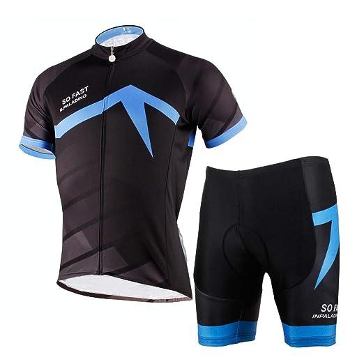 TSSM Ciclismo Jersey Hombres, Traje MTB Camisa de Manga Corta ...