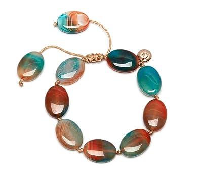 Lola Rose Women Agate Strand Bracelet of Length 27cm 0000000631372 UCzQ32