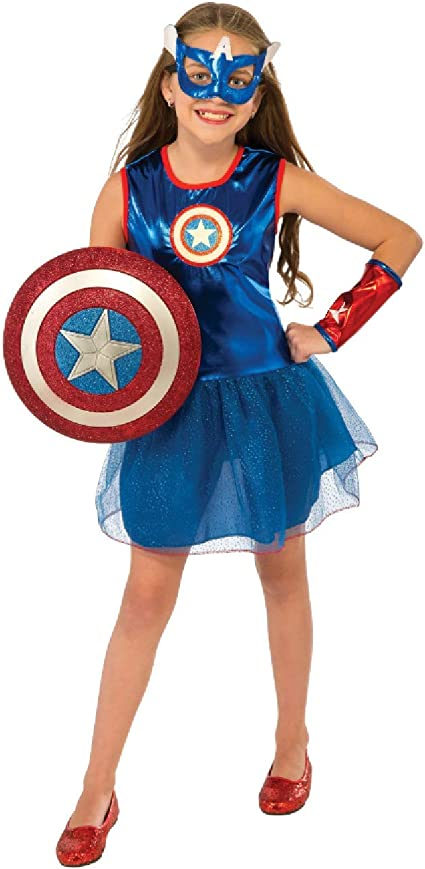 Amazon Com Rubie S Marvel Classic Child S American Dream Costume Toddler Toys Games With the release of the first photo of brie larson in costume in the upcoming captain marvel film (it was a candid set photo, so we don't know for sure what the context of the costume will be), it made us think about the many different. rubie s marvel classic child s american dream costume toddler