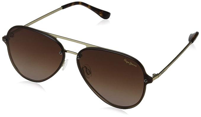 Pepe Jeans Milo Gafas de sol, Dorado (Gold/Brown), 65.0 ...