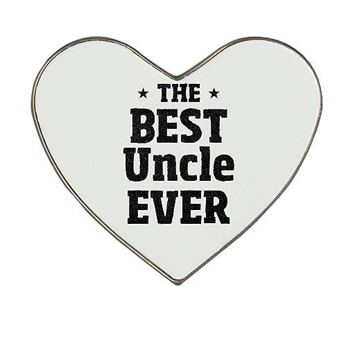 El mejor tío nunca Heartshaped imán para nevera: Amazon.es: Hogar