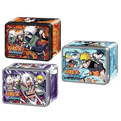 Amazon.com: Naruto Untouchable TCG Collector Tin Case - 12 ...