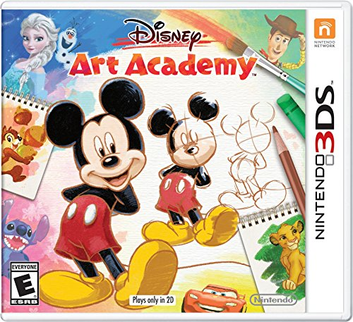 Disney Art Academy - Nintendo 3DS Standard Edition ()