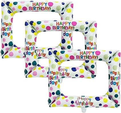 Amazon.com: Happyyami - 3 marcos de fotos inflables para ...