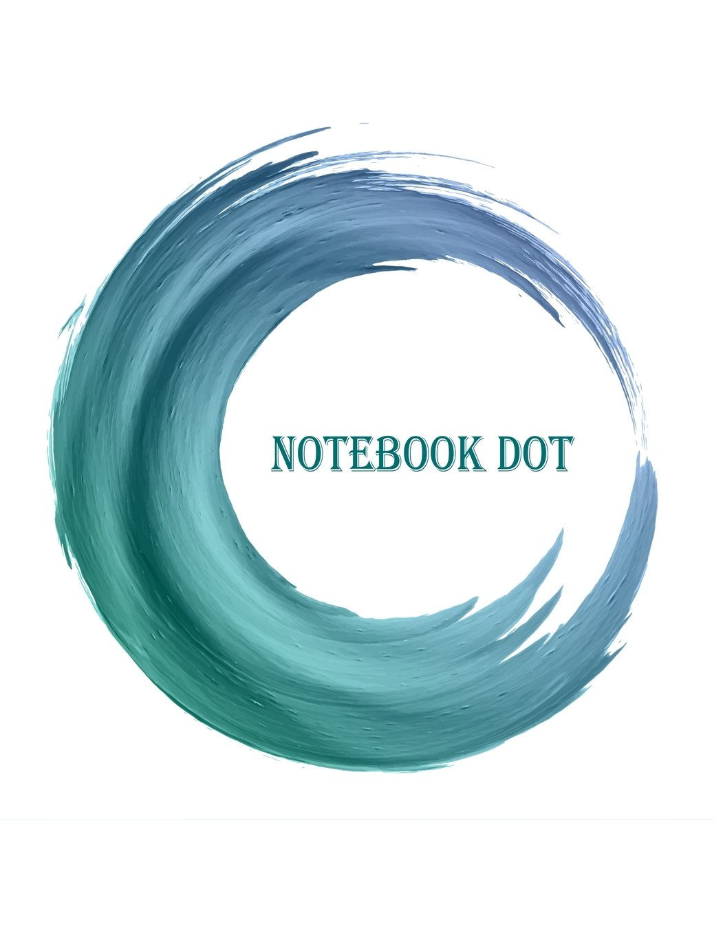 """Read Online Notebook dot: Blue watercolor texture: Notebook Journal Diary, 110 pages, 8.5"""" x 11"""" pdf epub"""
