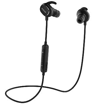 win-market ® qy19 Wireless Bluetooth con cancelación de ruido auriculares sudor Auriculares in-ear auriculares con micrófono para IOS Android smartphones y ...