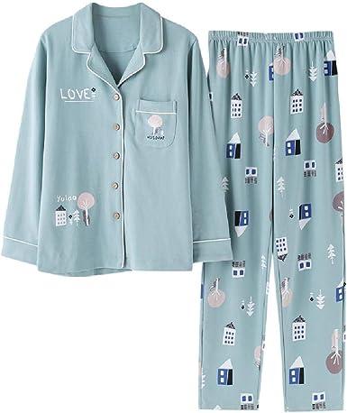 Conjunto de Pijamas de algodón Sexy Nuevas Mujeres Ropa de Dormir ...