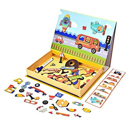 Home Creative Wooden Magnetic Board Erasable Writing Pad Drawing Board Educational Toys Digital Letters Number Children Puzzle Early Learning Beautiful And Charming