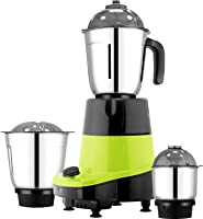 HOMETRONICS 550W JUICER MIXER GRINDER WITH 3 STAIN