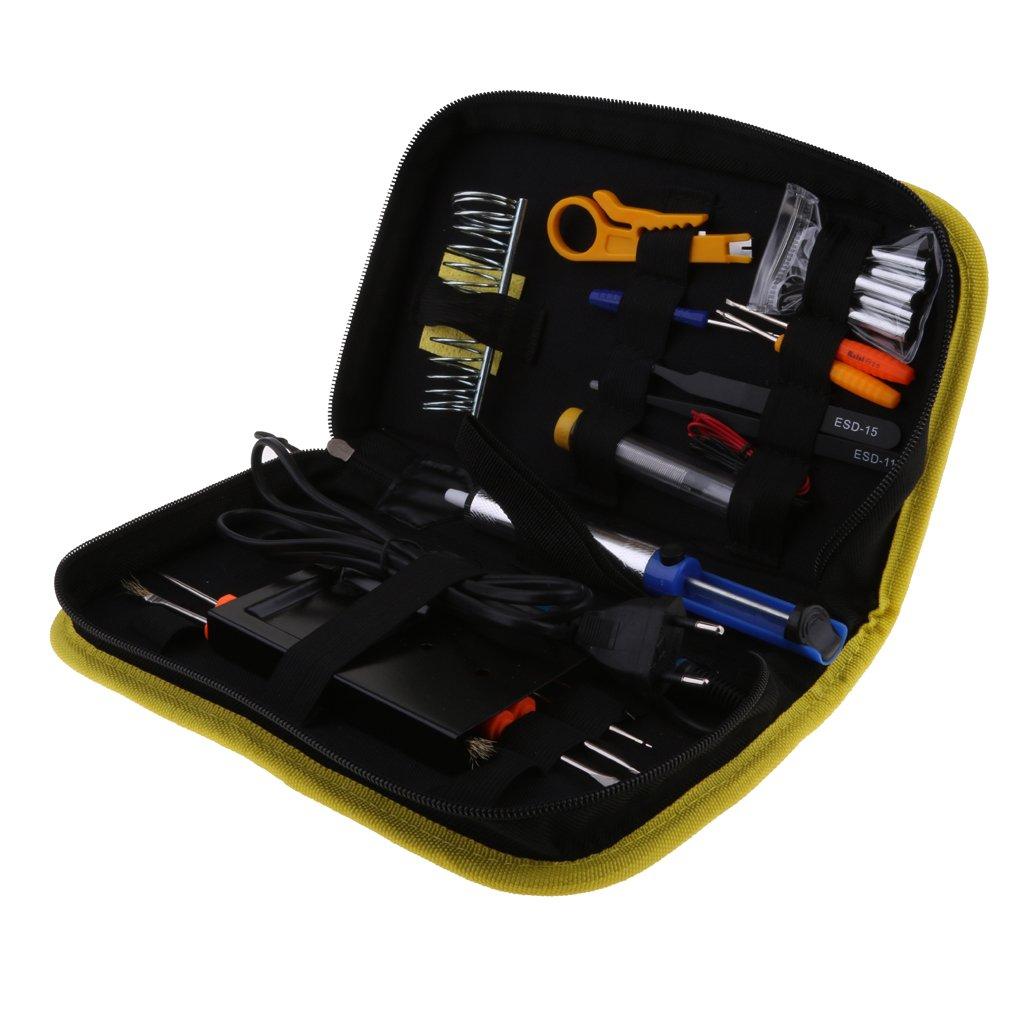 homyl Set de soldadura Soldador 25pcs Sold Anillo Iron Set para soldaduras & Reparaciones, Hobby, escuela & presupuesto: Amazon.es: Bricolaje y herramientas
