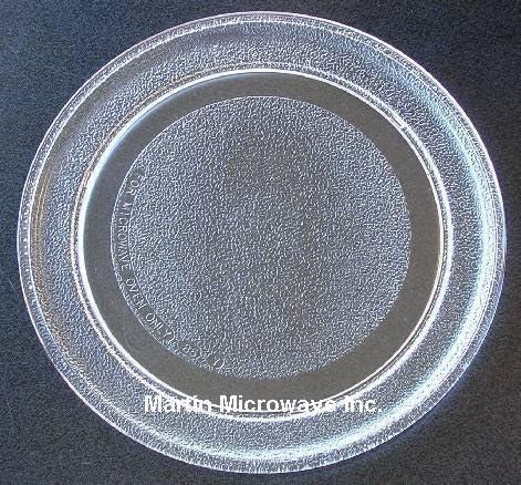 Oster apta para microondas de cristal Tocadiscos placa/bandeja 9 5 ...