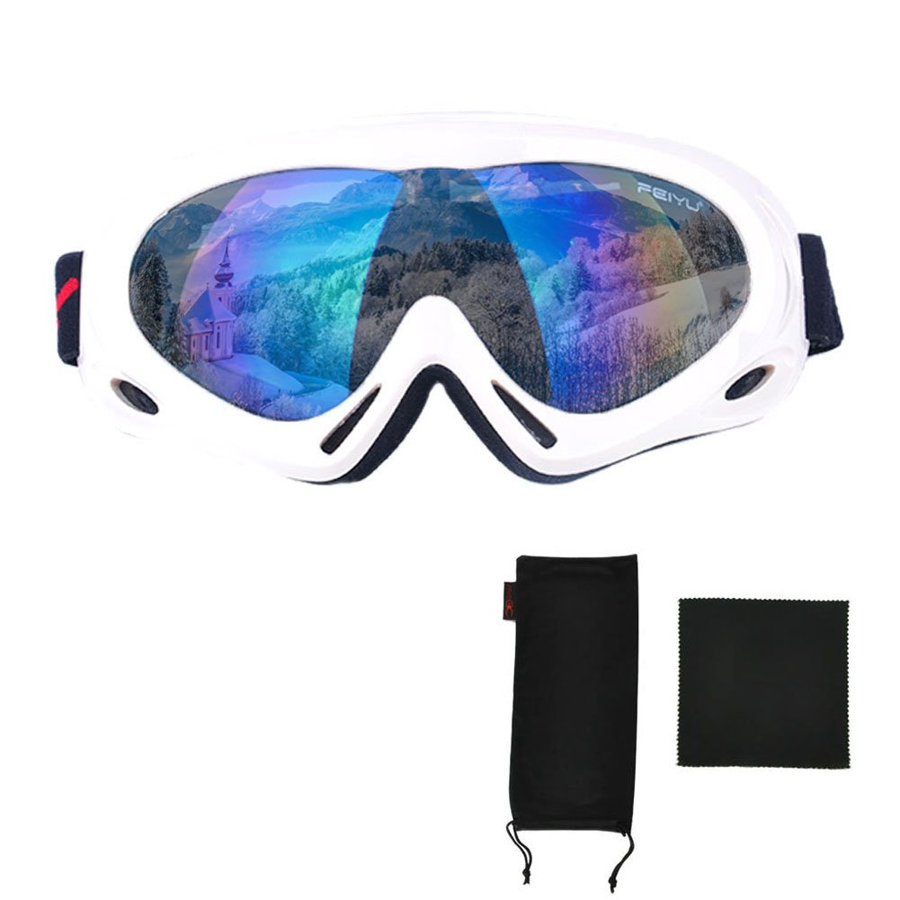 Mai Yi Spherical Ski Goggles,2017 New Anti-Sand+Windproof+Detachable with 100/% UV Protection Lens Snowboard Glasses,Snowmobile Snow Goggles for Men /& Women
