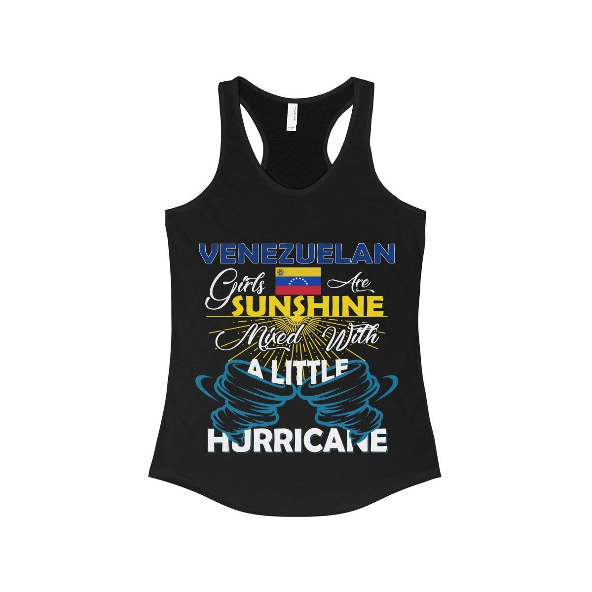 FavoryStore Venezuelan Girls Are Sunshine Mixed With a Little Hurricane Shirt Tank Top