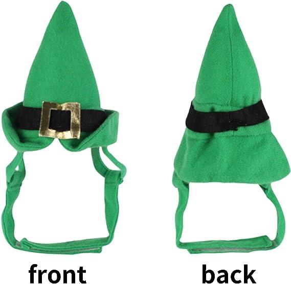 DELIFUR St Patricks Day Hat Funny Hat Novelty Green Hat Shamrock Hat Crazy Hats Patricks Pants Hat Green Decoration Irish Themed Party Accessory
